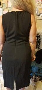 White House Black Market Dresses - Black and white Little Black Dress